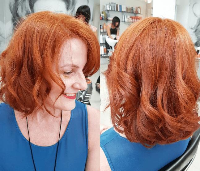 50 yaşındaki bayanlar için saç modelleri