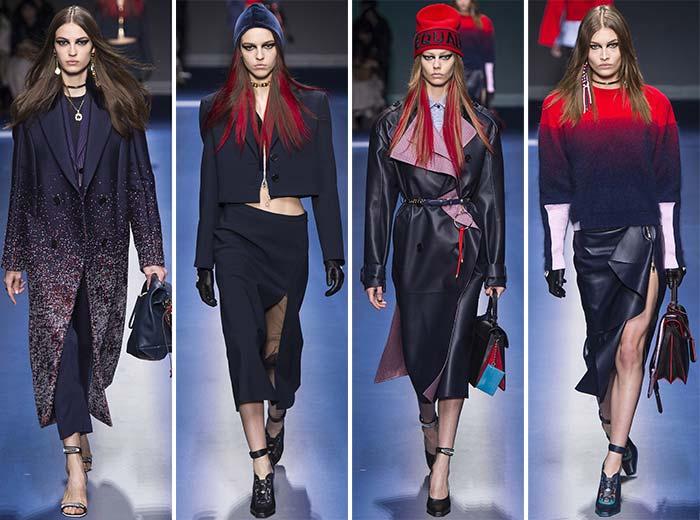 Versace koleksiyonu 2017 kış