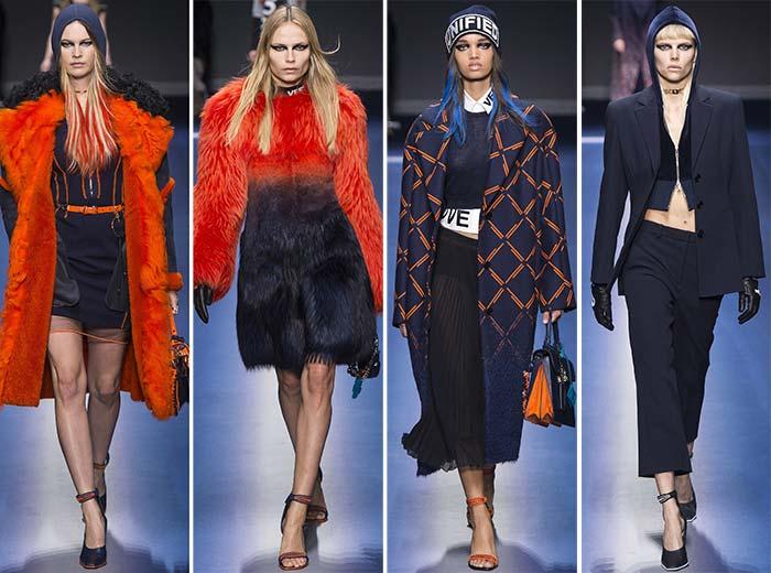 Versace sonbahar-kış defilesi 2017-2018