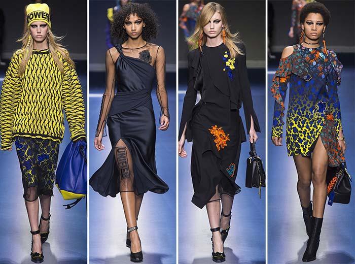 Versace sonbahar koleksiyonu 2017