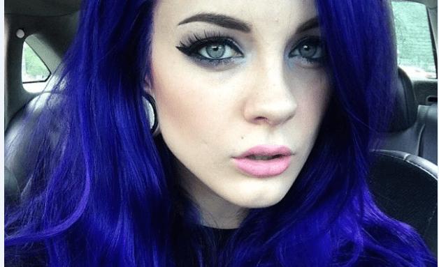 Denim Mavi Saç Rengi 2017-2018