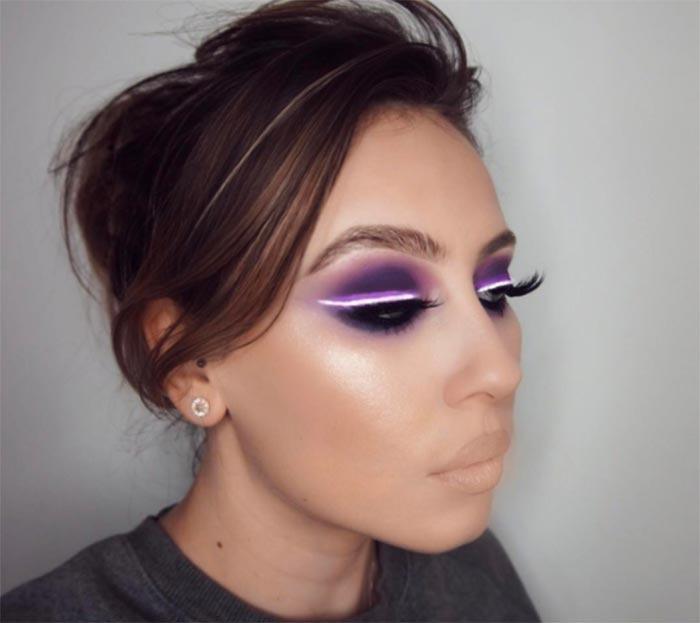 ınstagram yeni trendi neon ışık makyajı