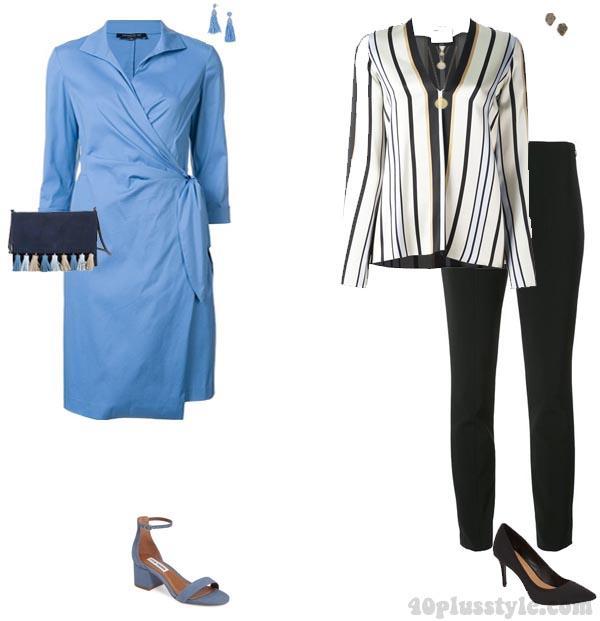 Kısa boylu minyon kadınlara giyim örnekleri