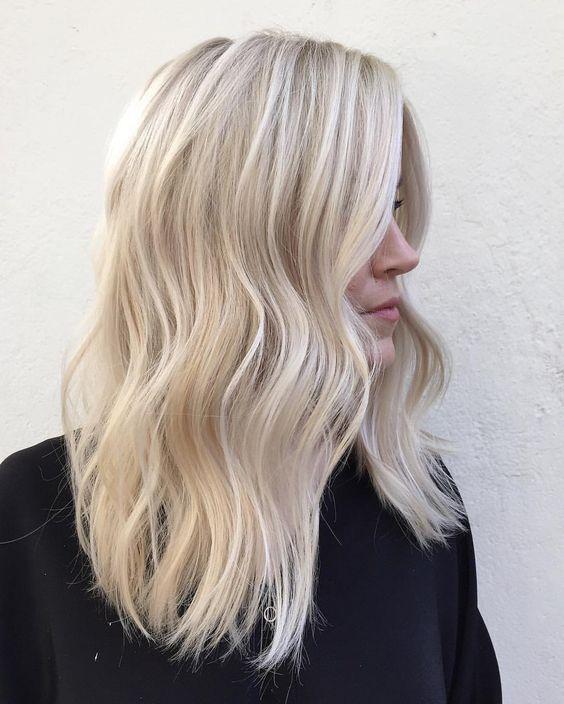 gümüş sarısı saç