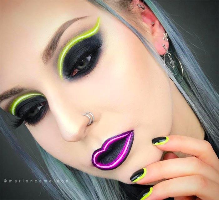 neon makyajı biliyor musunuz