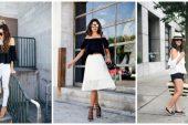 Siyah Beyaz Kıyafet Kombinleri Nasıl Yapılır?