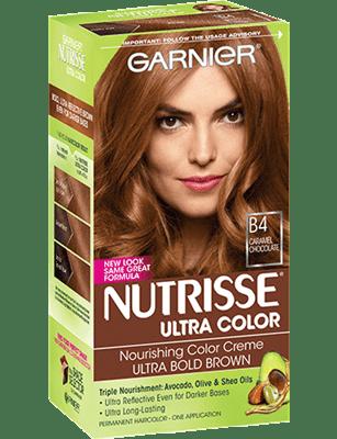 çikolata karamel saç boyası