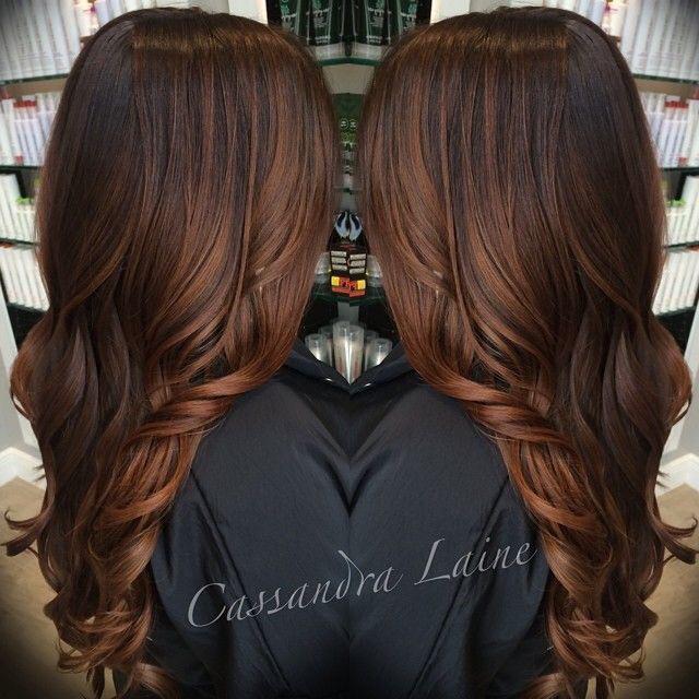 çikolata karamel saç rengi