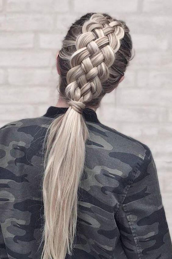 lise mezuniyet saç modeli