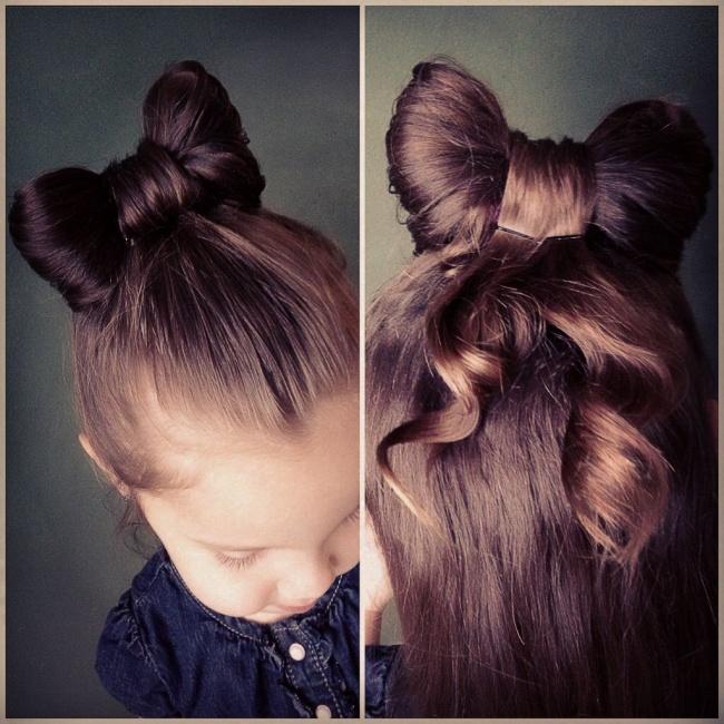 küçük kızlara saç modelleri ve anlatımları