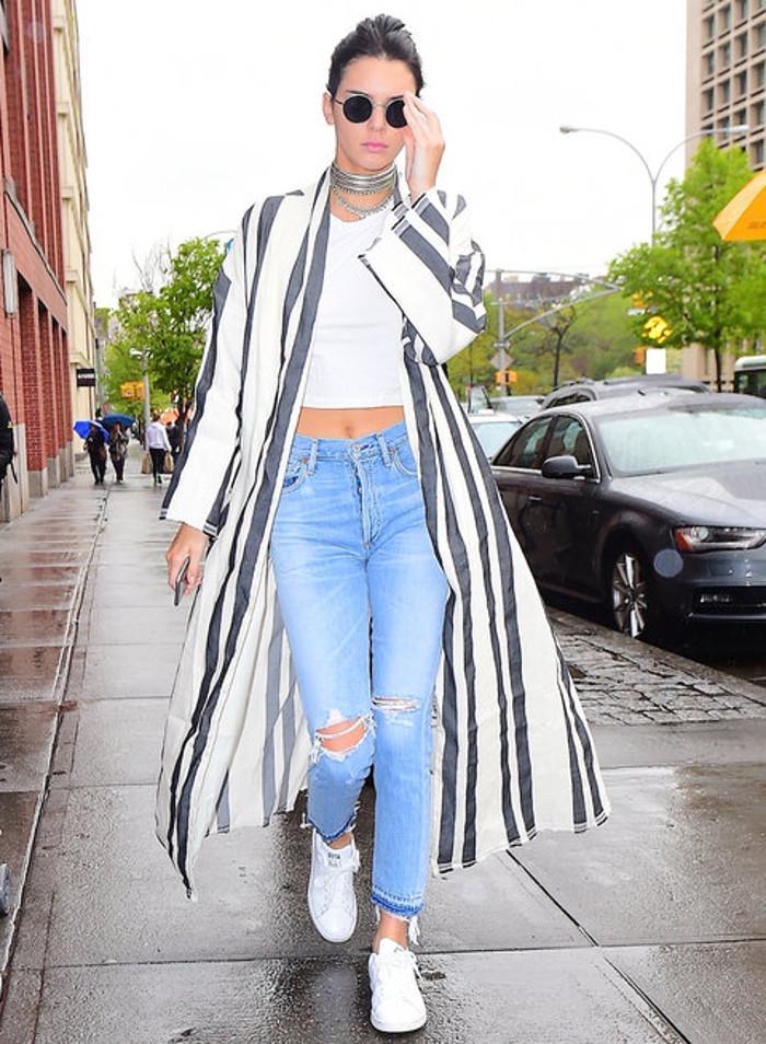 Kendall Jenner sokak stili
