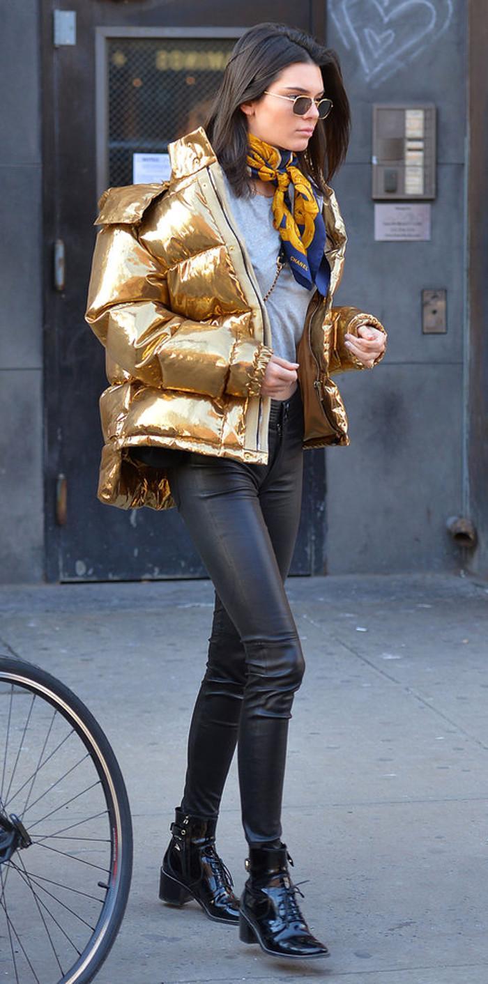 Kendall Jenner sokak tarzı