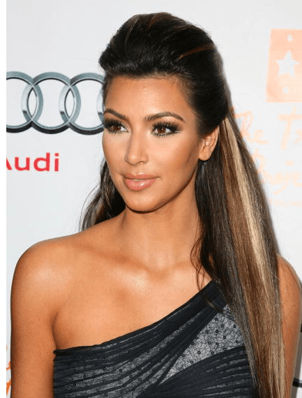 Kim kardashian saç renkleri