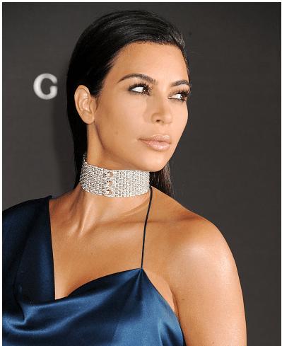 Kim Kardashian en yeni saç tarzı