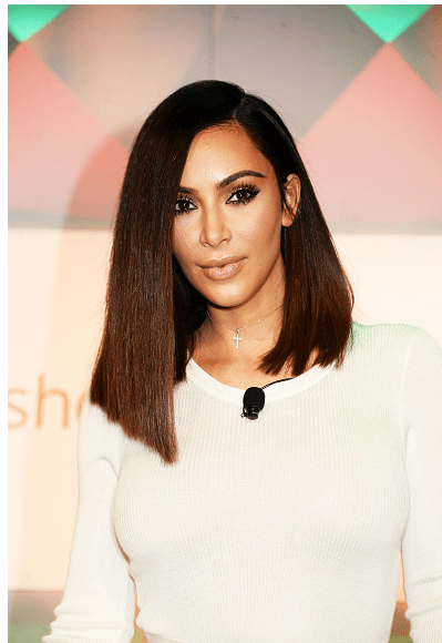 Kim Kardashian saç stilleri