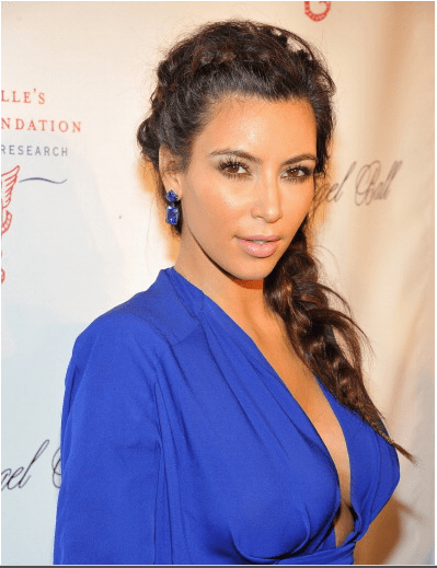 Kim Kardashian saç örgüleri