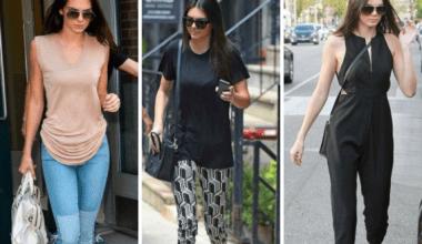 Kendall Jenner Sokak Kombinleri 2019-2020