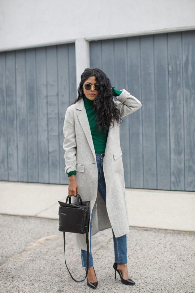 kış bayan modası 2018