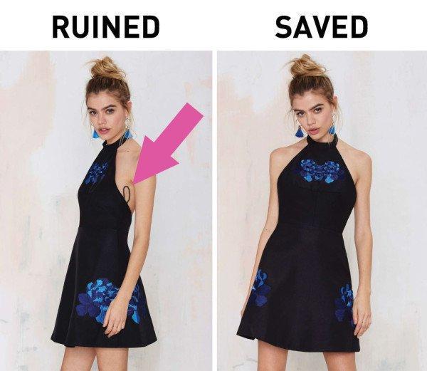 kötü giyimdeki sorunlara basit çözümler
