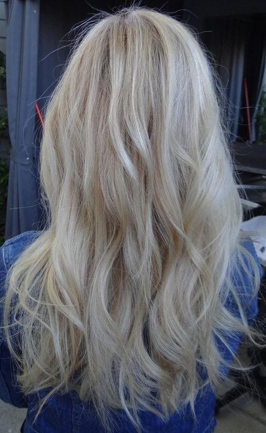 küllü sarı saç rengi
