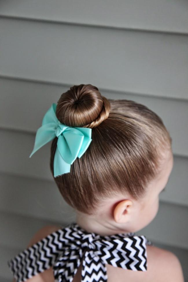 kız çocuklarına tatlı saç modelleri