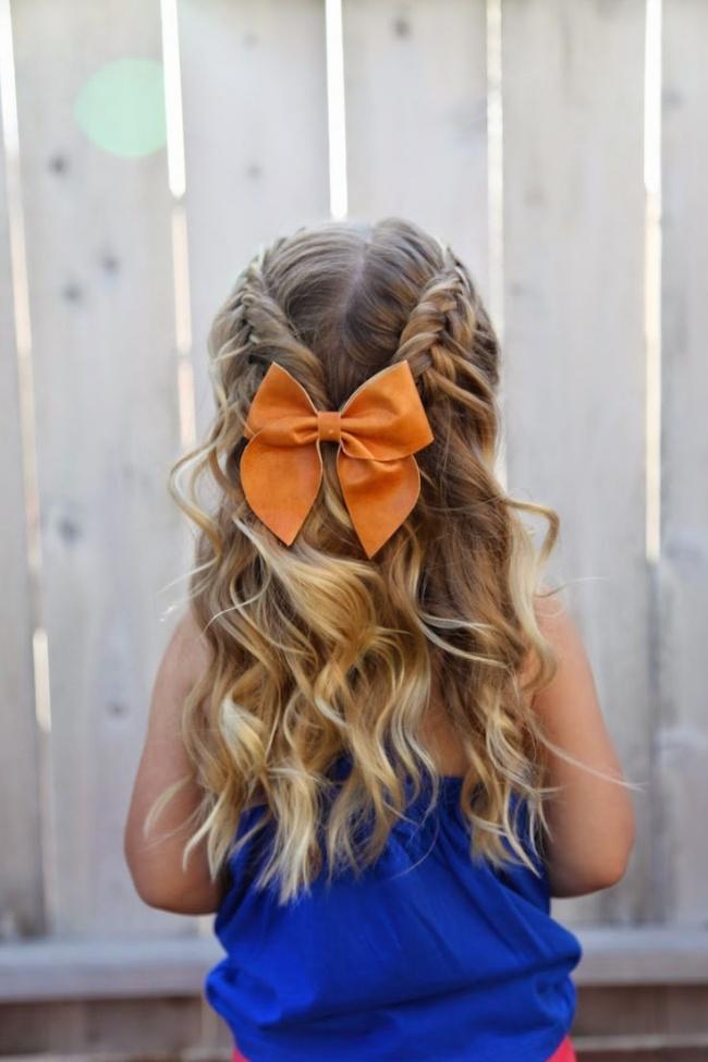 küçük kızlara özel saç modelleri