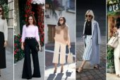 Bayanlar İçin Pantolon Kazak Kombinleri