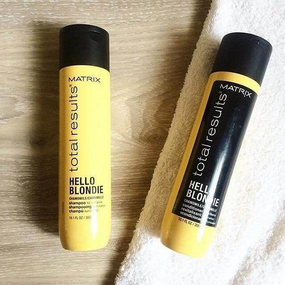sarı saç bakımı