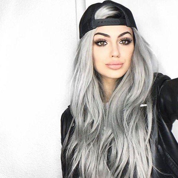 Gri Saç Rengini Yakından Tanıyoruz Kombin Kadın