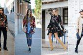 Nakış İşlemeli Elbise Modelleri ve Kombinleri 2017-2018