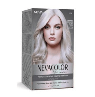 Gri Sac Rengini Yakindan Taniyoruz Kombin Kadin