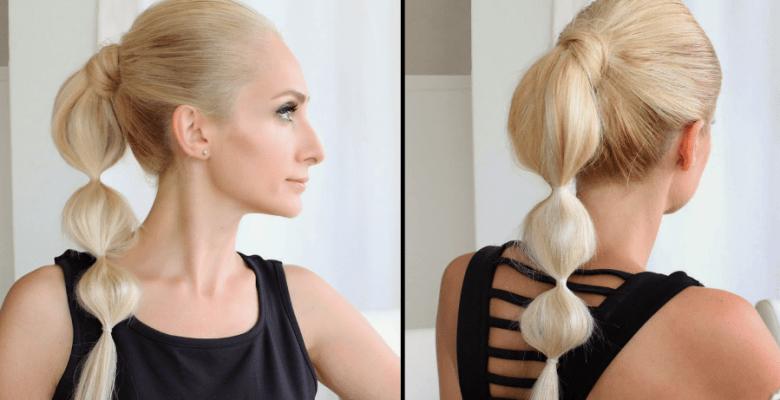Boğumlu At Kuyruğu Saç Modeli Yapımı Resimli Anlatım