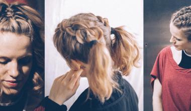 Kısa Saçlar İçin Harika Örgülü Saç Modelleri