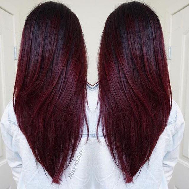 mor saç rengi fikirleri