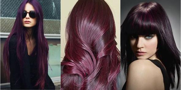 Patlıcan Moru Saç Rengi Ayrıntıları ve Fikirleri