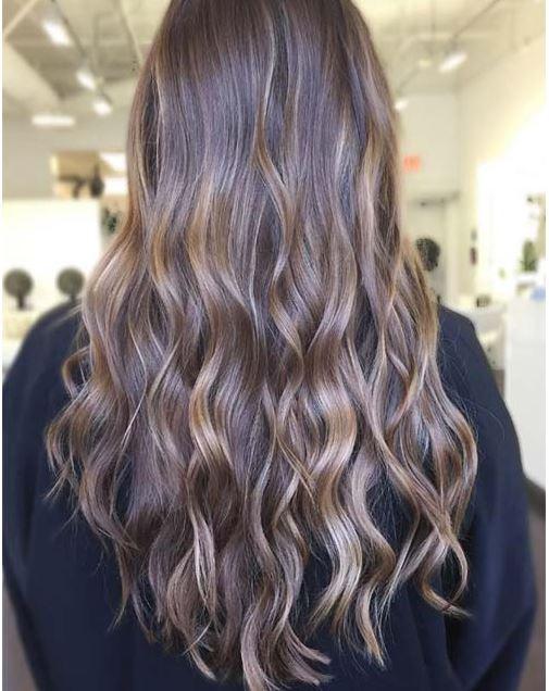 2018 saç rengi