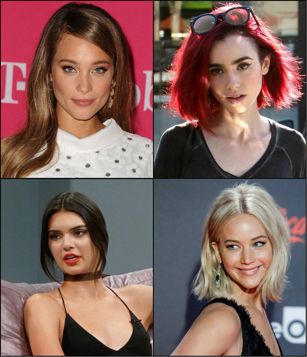 farklı saç trendleri