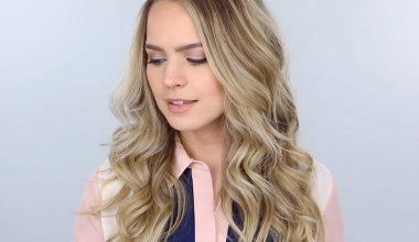 Kuaföre Gitmeden Gevşek Dalgalı Saç Modeli Nasıl Yapılır?