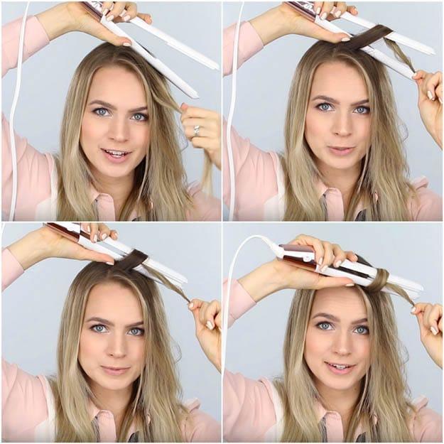 dalgalı saç yapımı videolu