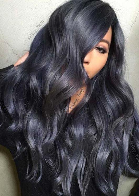 2018 için saç rengi önerisi
