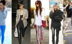 En Moda Tayt Kombinleri 2018-2019