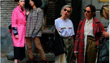 2018-2019 Güz-Kış Bayan Sokak Modası