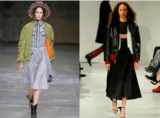 2019-2019 Sonbahar-Kış Modası Siyah Deri Ceket Kombinleri