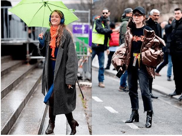 2018 için bayan sokak modası