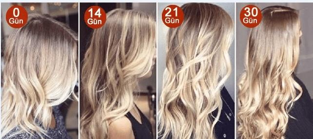 Hızlı saç uzatma yöntemleri nelerdir
