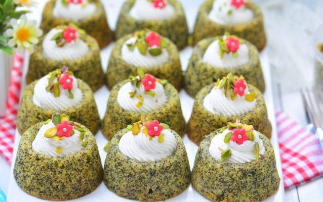 Ispanaklı Haşhaşlı Revani Tatlısı Malzemeleri ve Tarifi