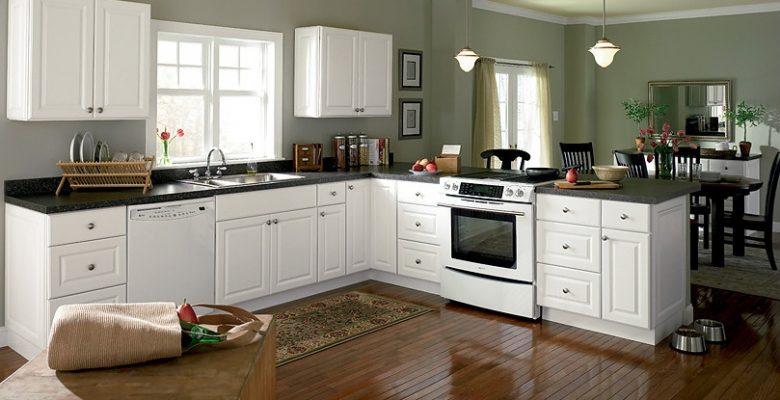 2018 2019 beyaz mutfak dolabi modelleri ve fiyatlari With kitchen colors with white cabinets with discount canvas wall art
