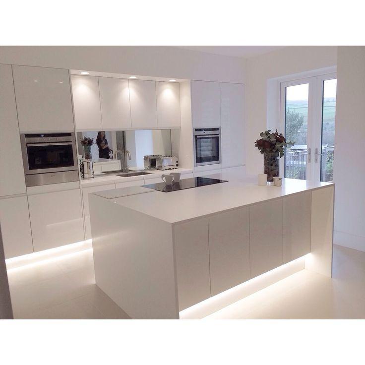 Modern Kitchen Remodeling Ideas: 2018-2019 Beyaz Mutfak Dolabı Modelleri Ve Fiyatları