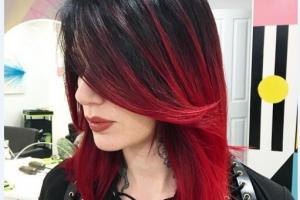 Kızıl Ombre İle Baştan Çıkarıcı Saç Rengine Kavuşabilirsiniz!