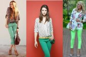 Tarzınıza Tarz Katacak Yeşil Pantolon Kombinleri 2018-2019